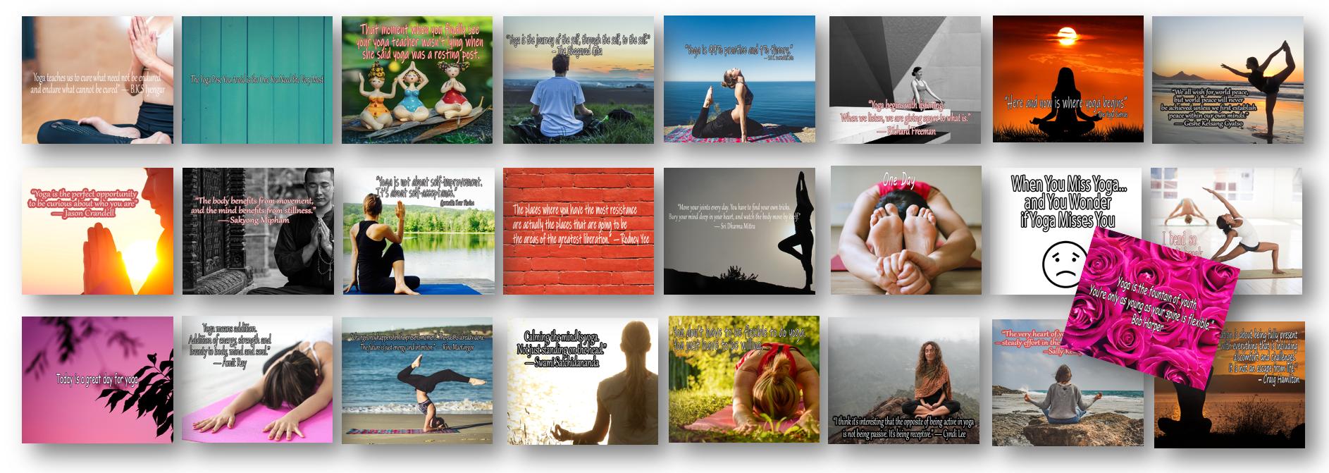 25 More Facebook Yoga Quotes