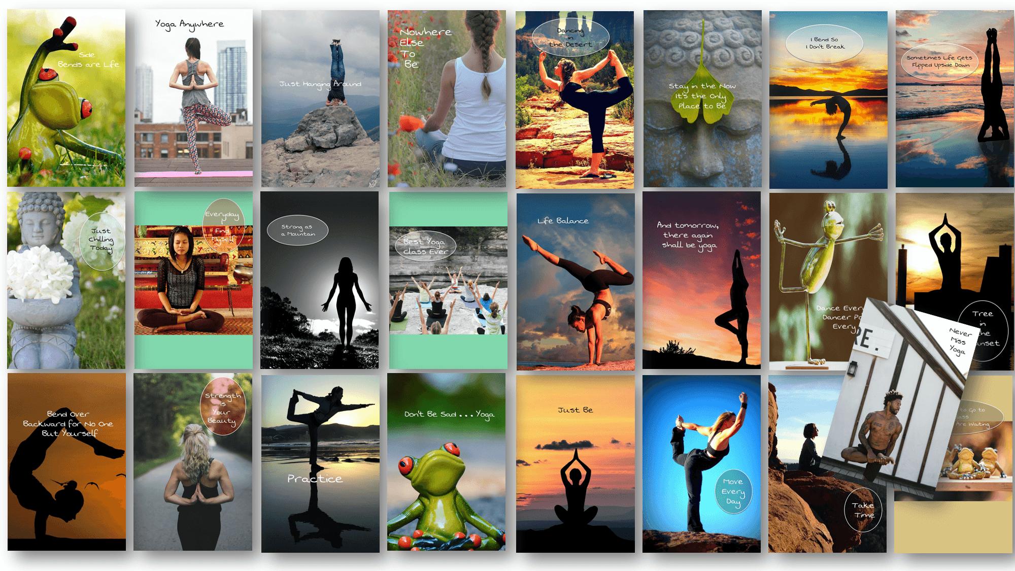 25 More Yoga Pinterest Pins