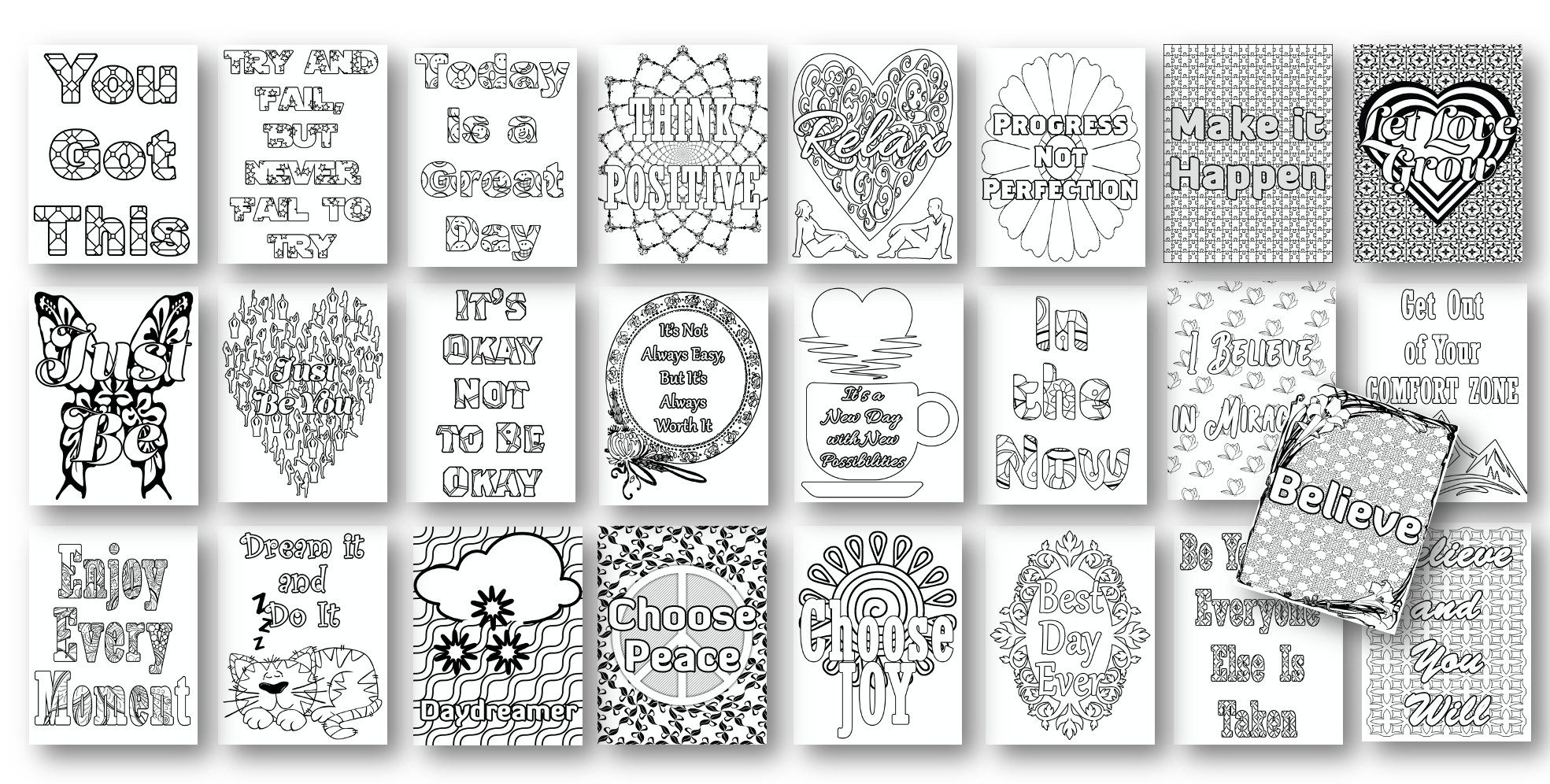 25 More Coloring Pages