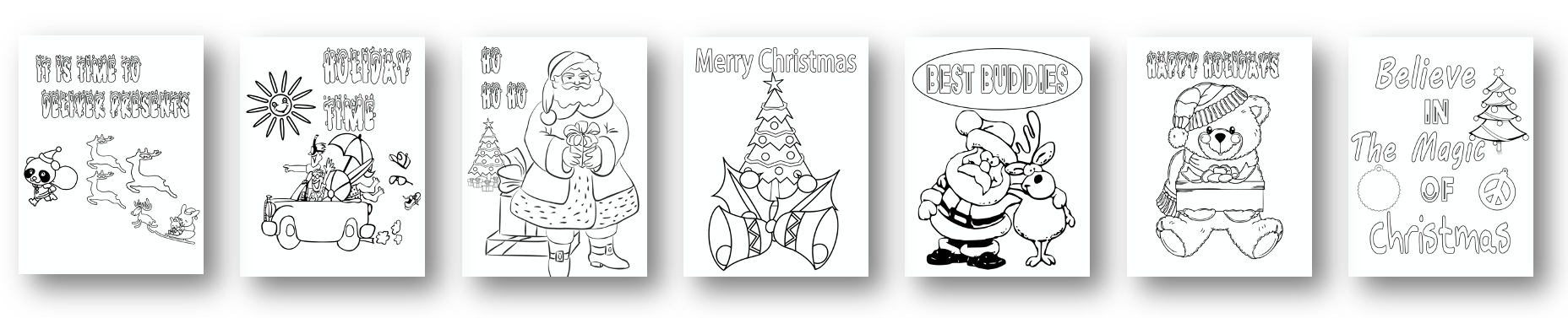 7 Bonus Coloring Pages