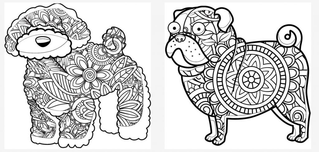 Add Patterns to Coloring Page Images