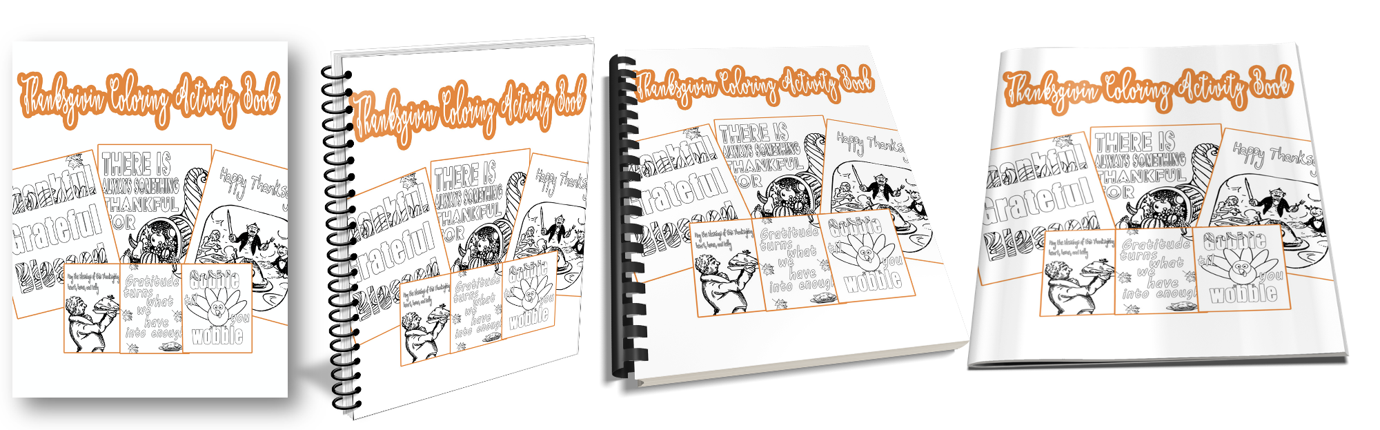 Thanksgiving Journal Covers
