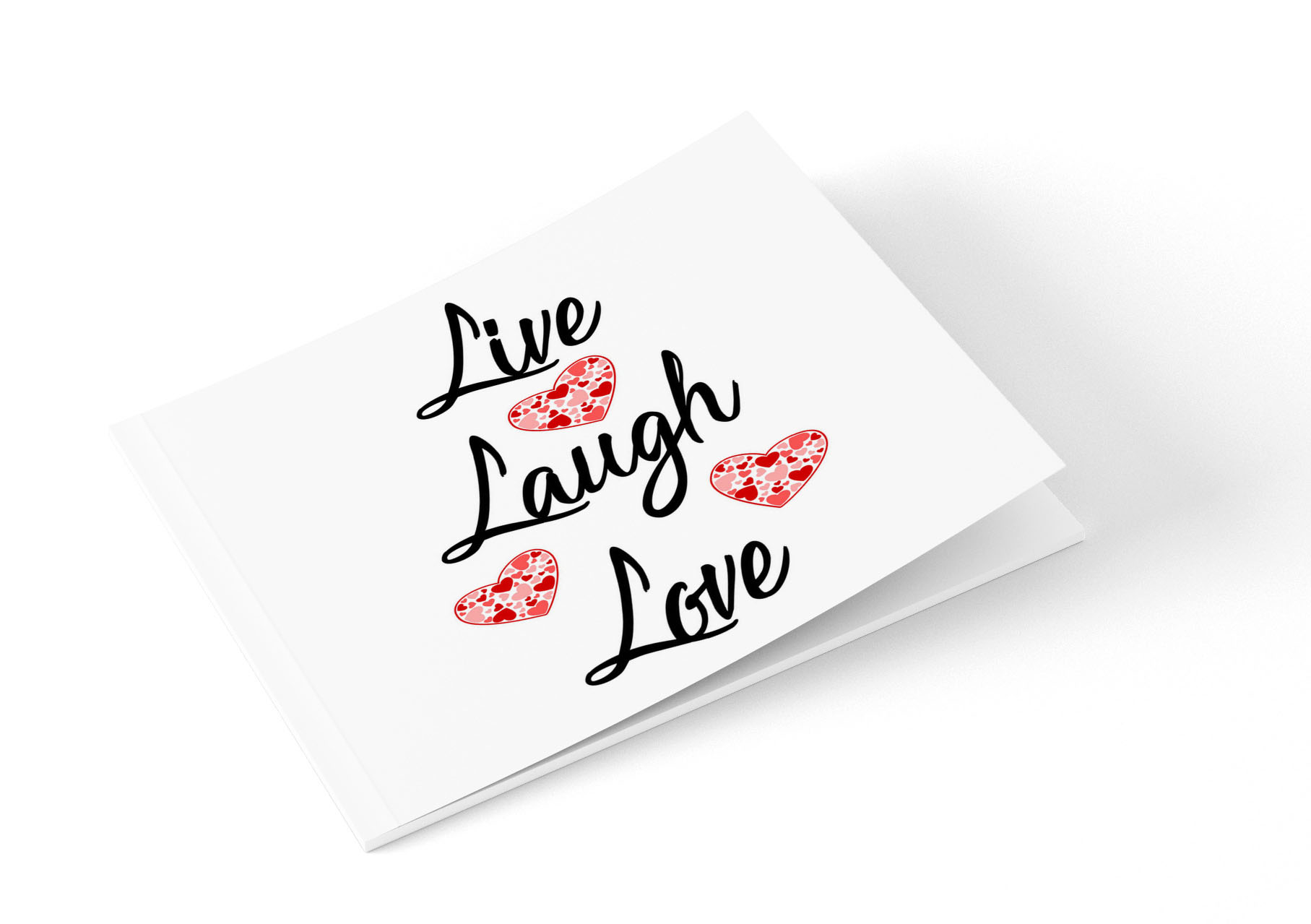 Live Laugh Love Note Card