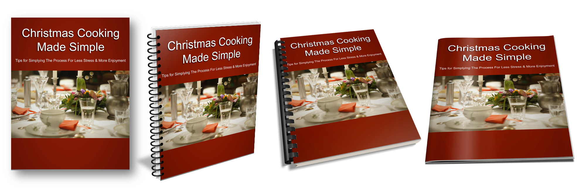 Christmas Cooking Report Ecovers