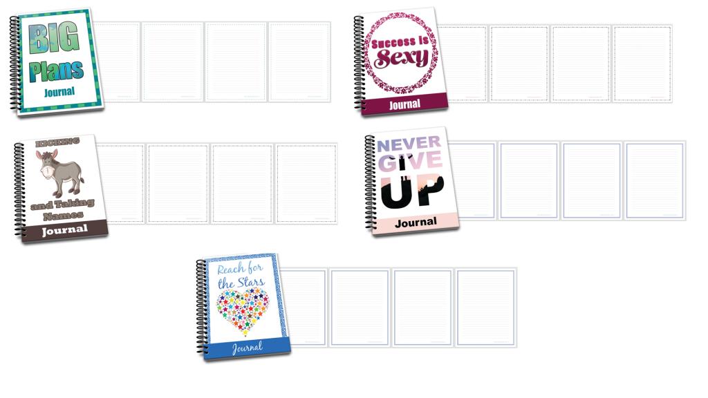 Goal Setting Journals