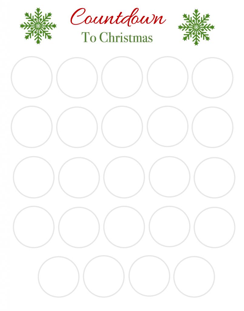 Advent Calendar Background