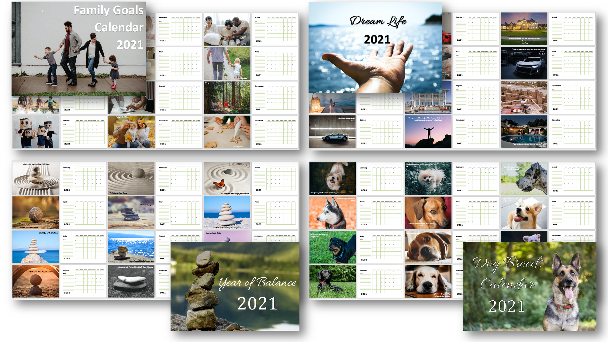 Wall Calendars with PLR Rights