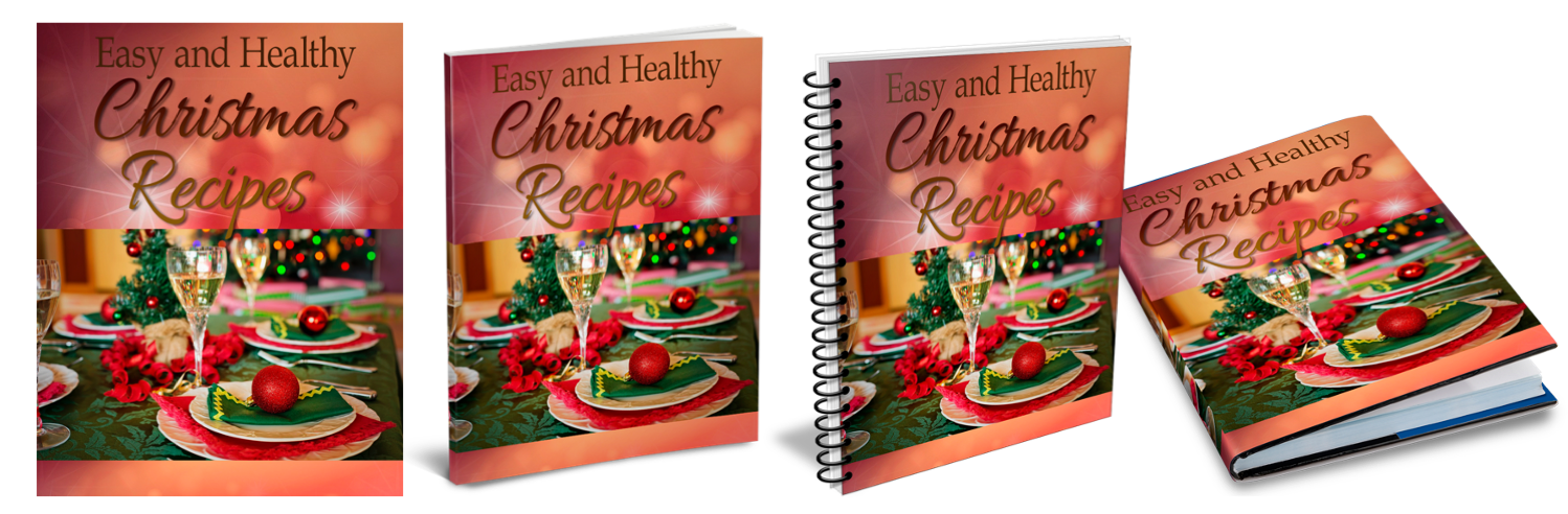 Christmas Recipe Book Covers