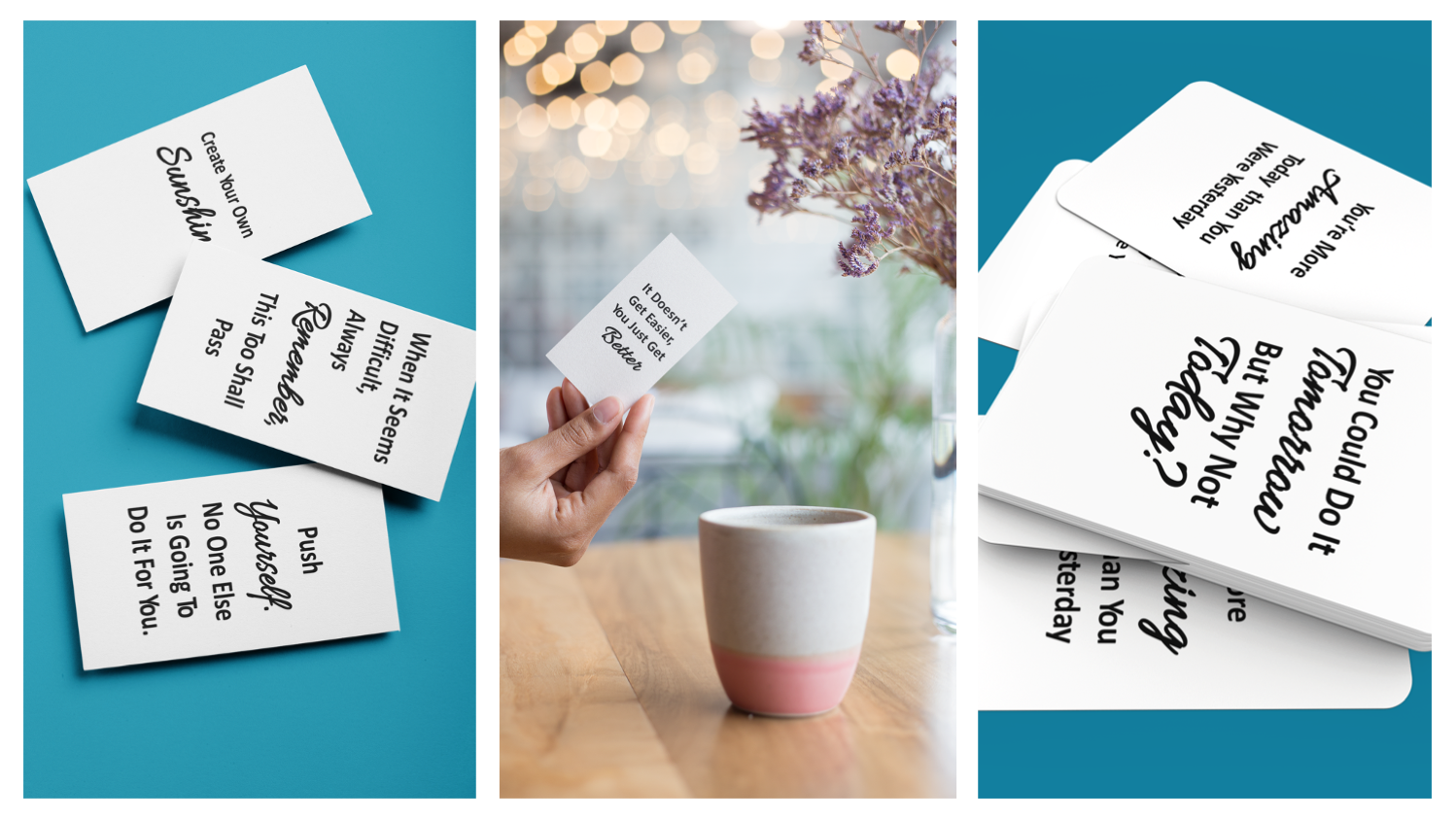 Motivational and Affirmations Card Decks