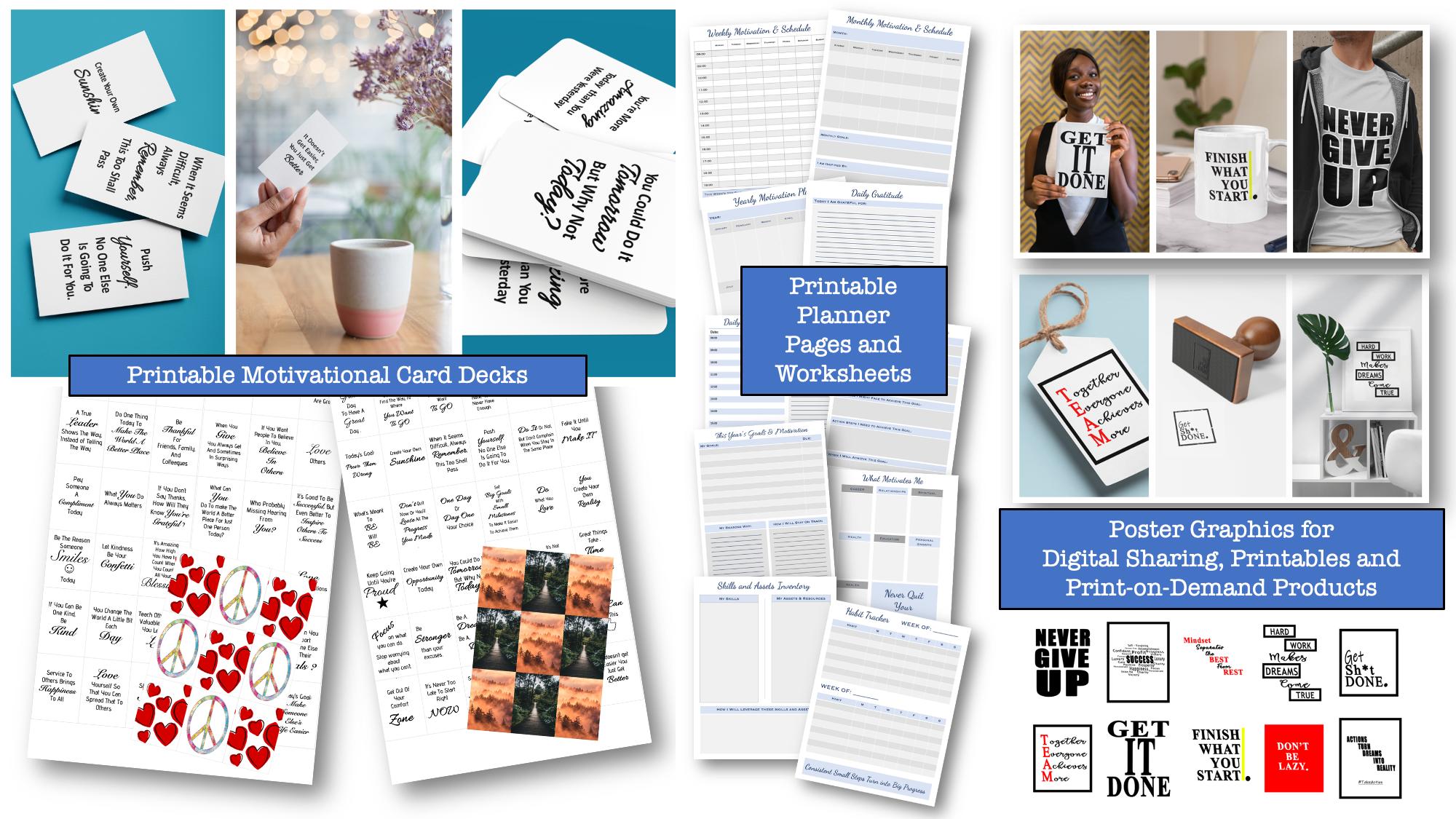 Card Deck + Printables