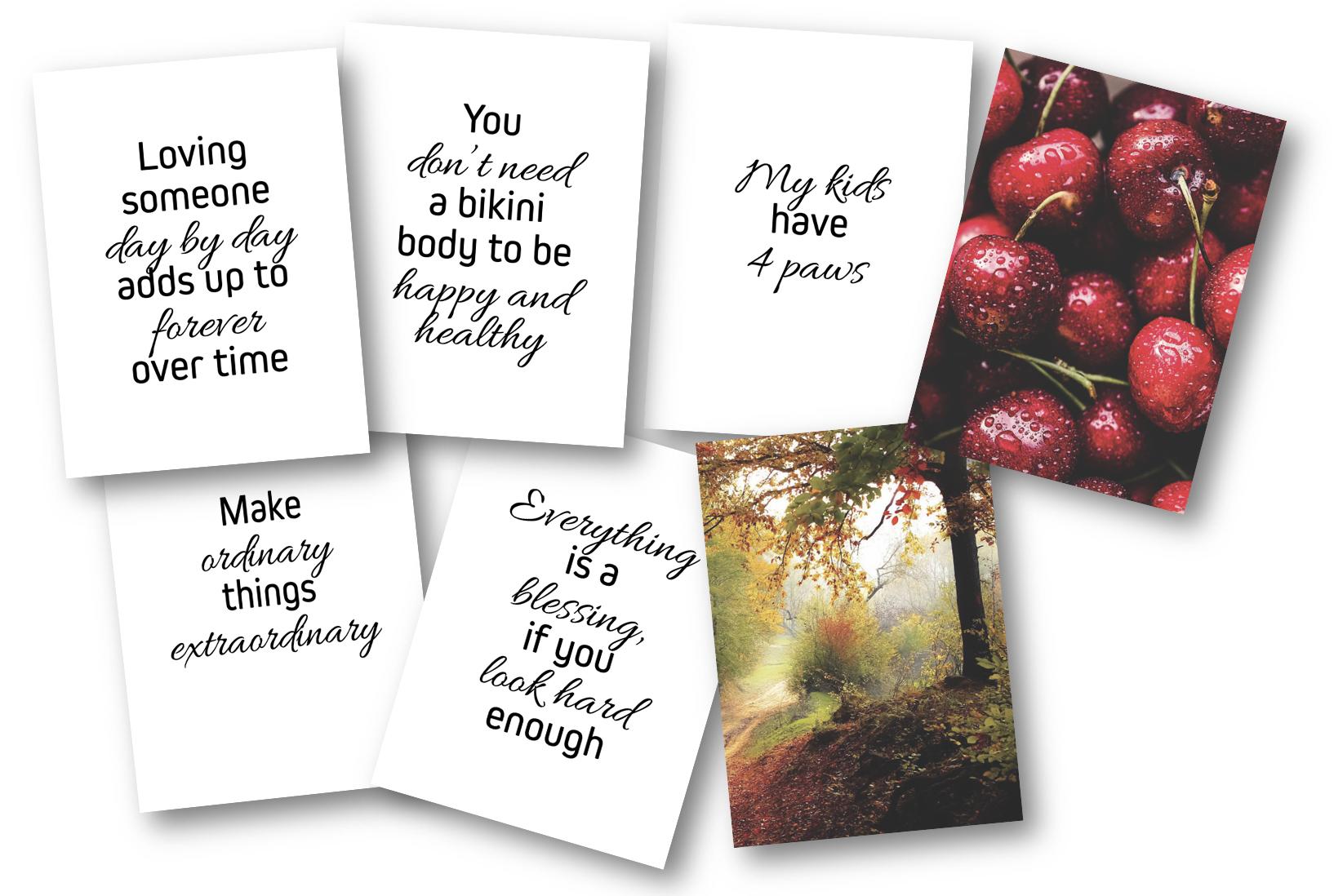 5 Free Niche Cards