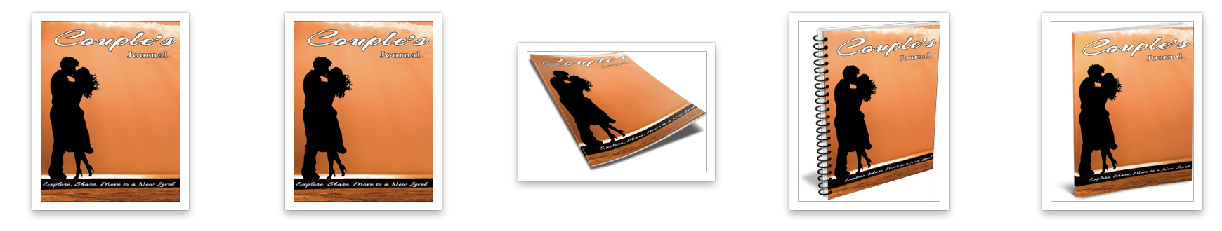 Couple Journal Cover Graphics