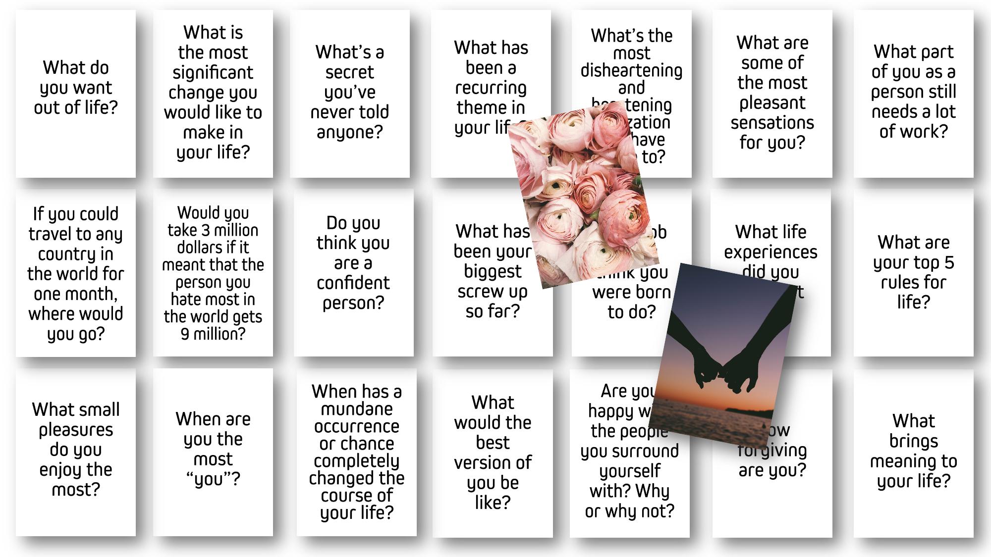 Relationship Questions Card Deck