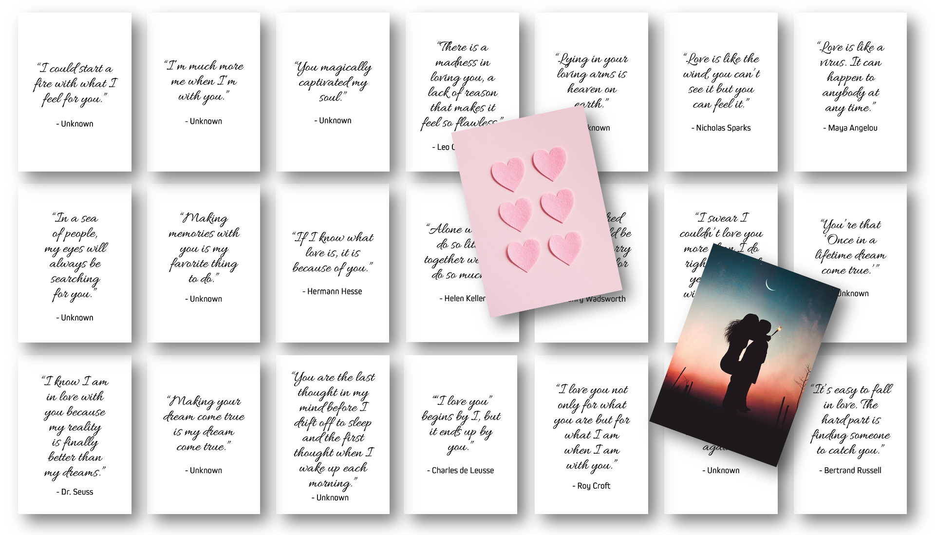 Love Quotes Card Deck
