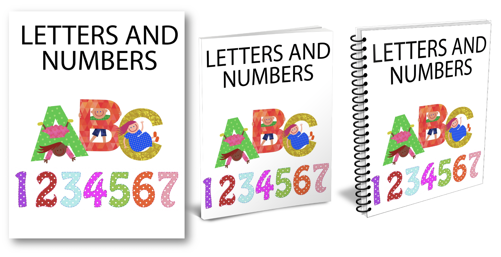 Letters and Numbers Ecovers