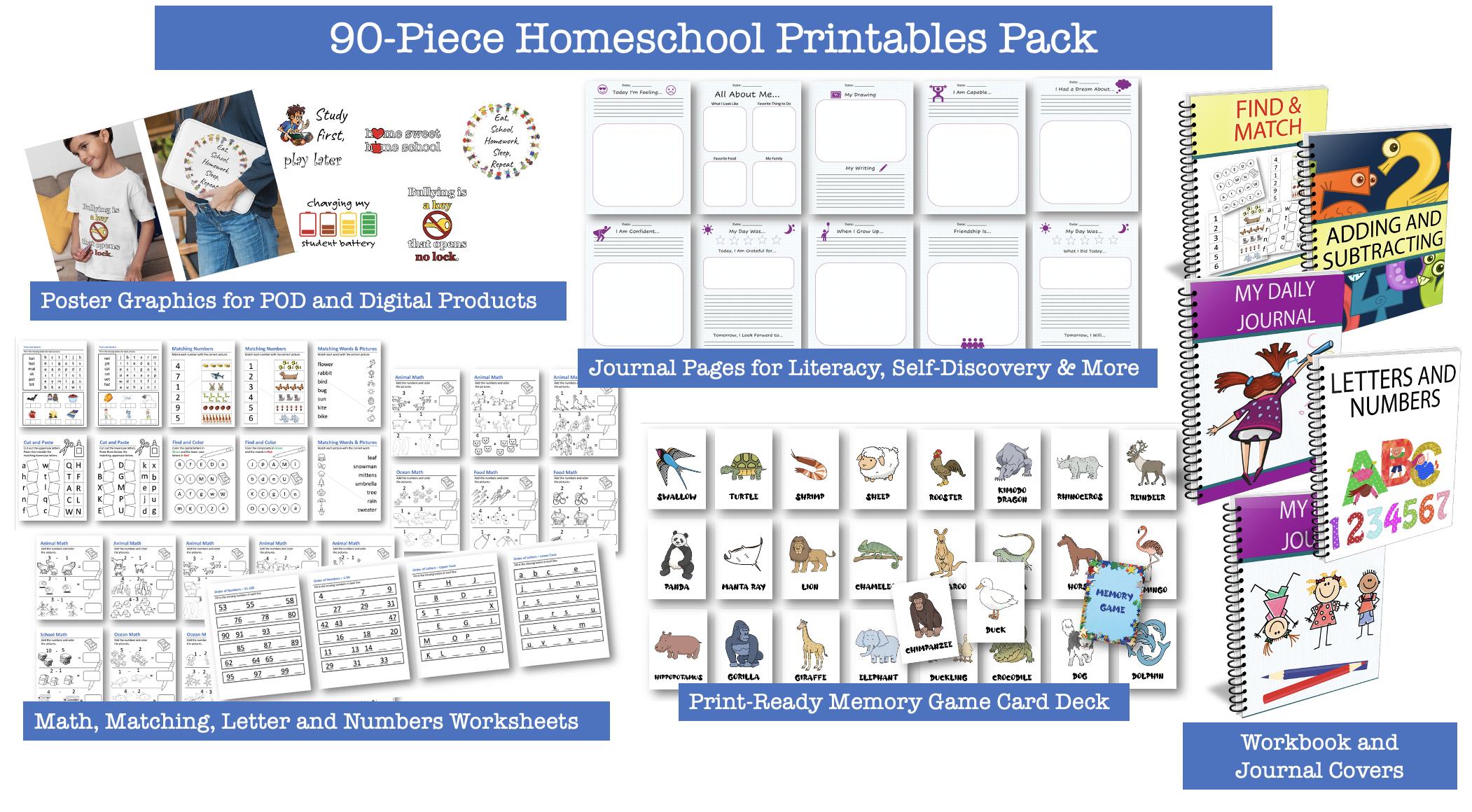 90-Piece Homeschool Pacl