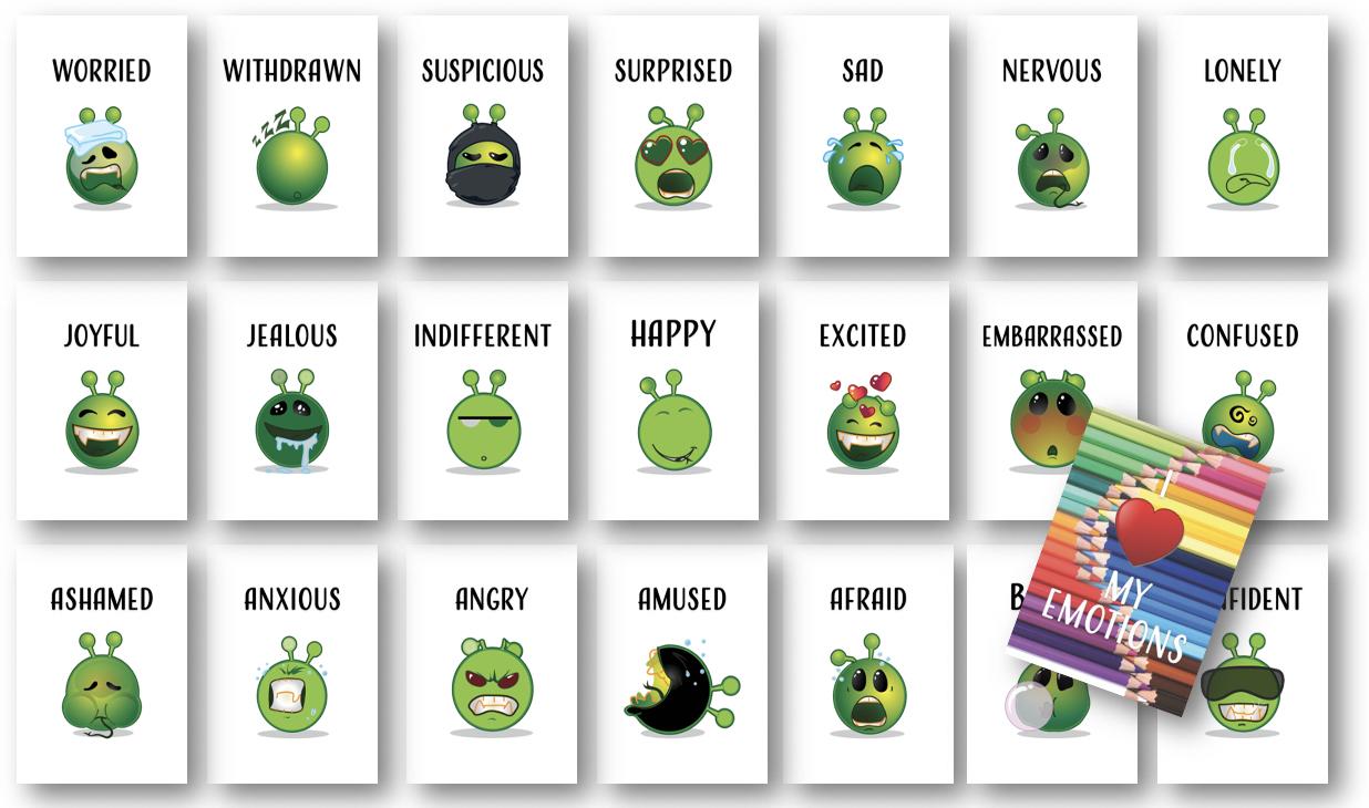 Emotions Card Deck
