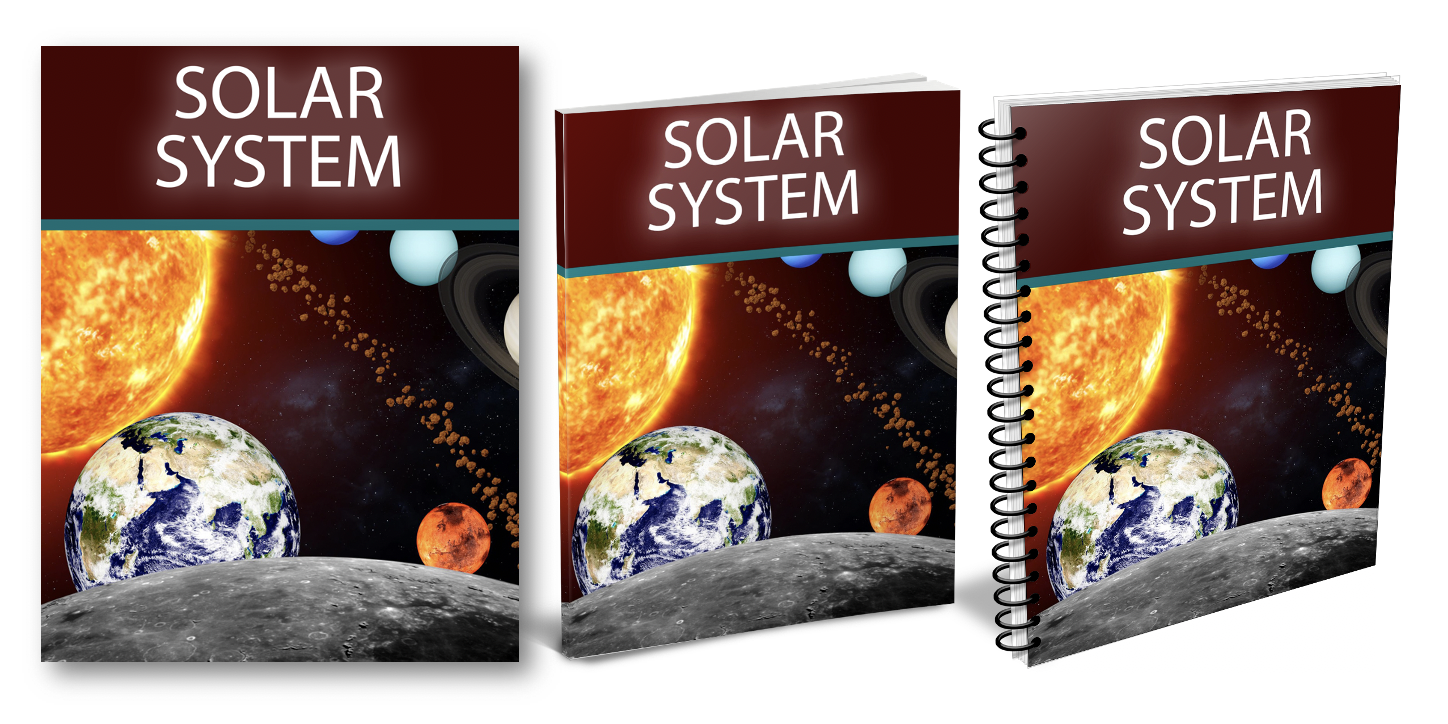 Solar System Workbook Cover
