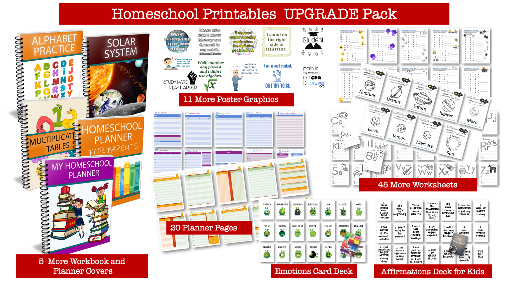 More Homeschooling Printables