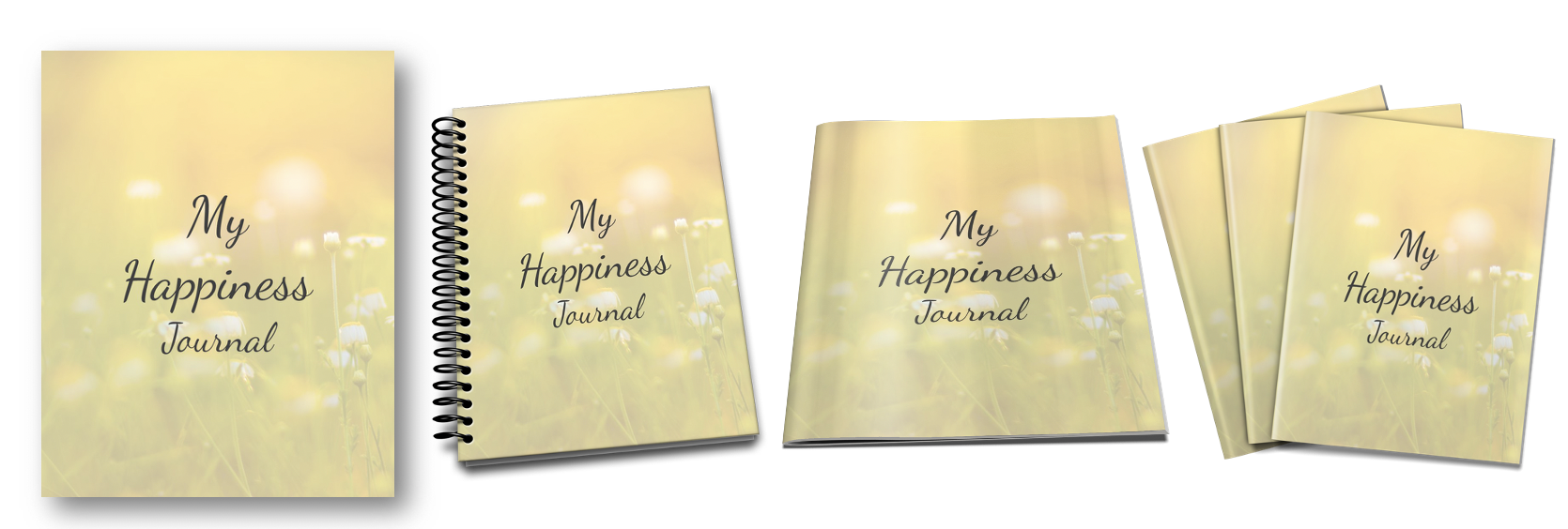 Happiness Journal Ecovers