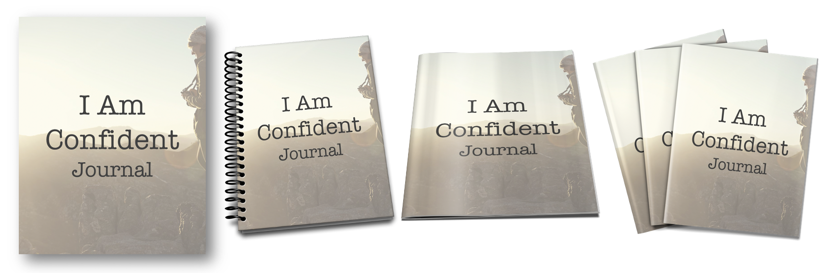 I am Confident Journal Covers