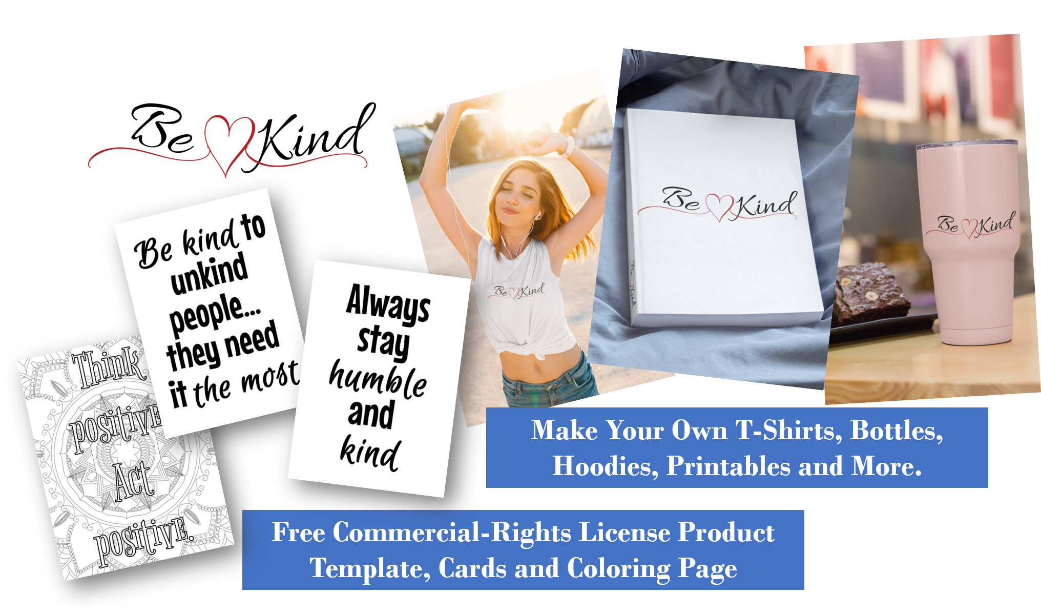 free kindness templates