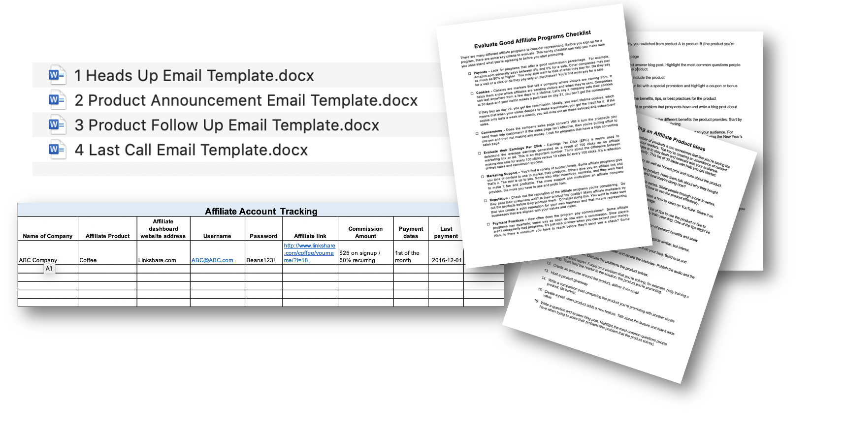 Templates and Checklists Included