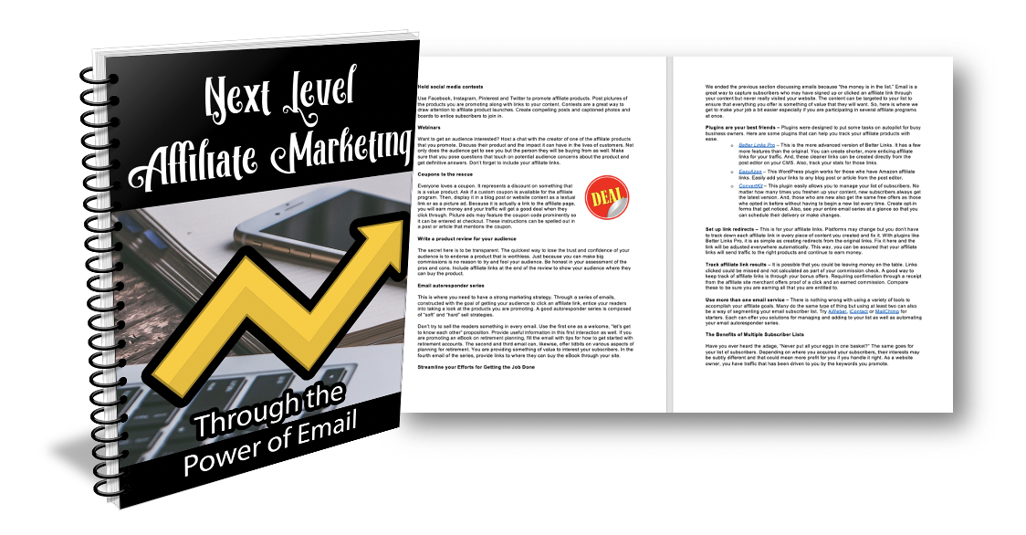 Affilliate Marketing Throught the Power of Email