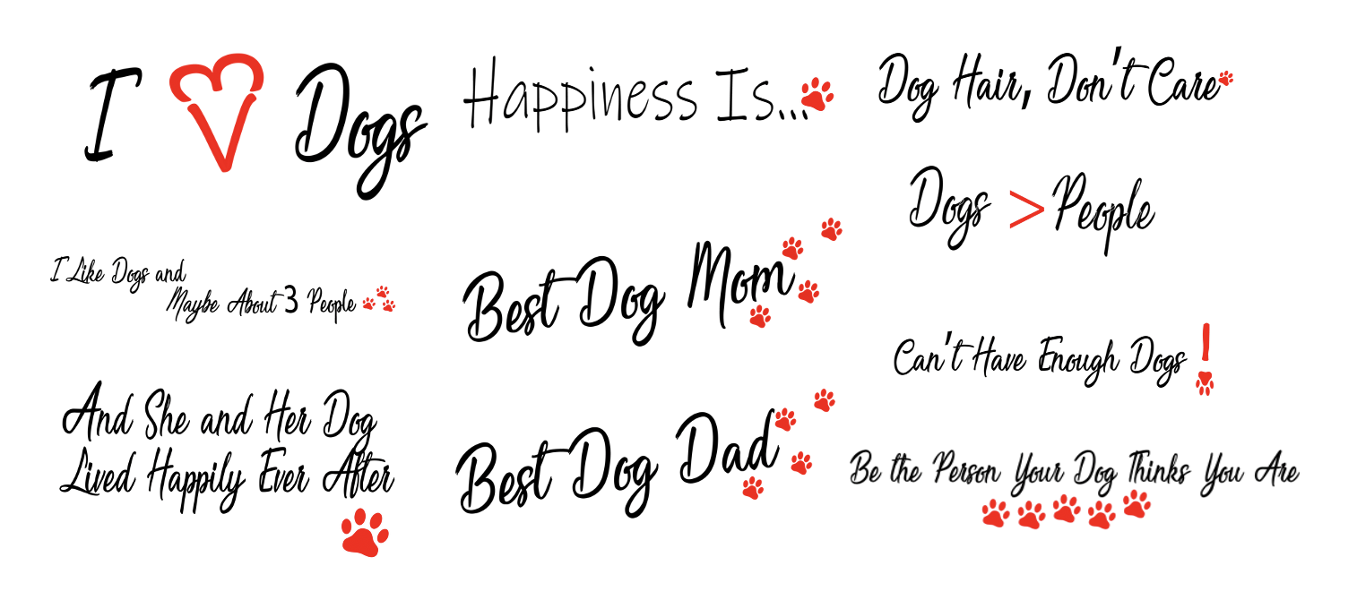 Dog Product Templates