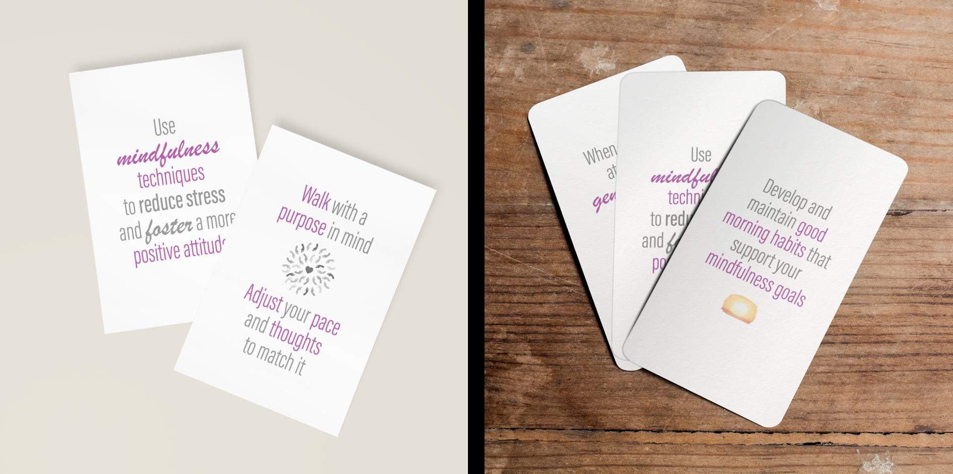 mindfulness card deck