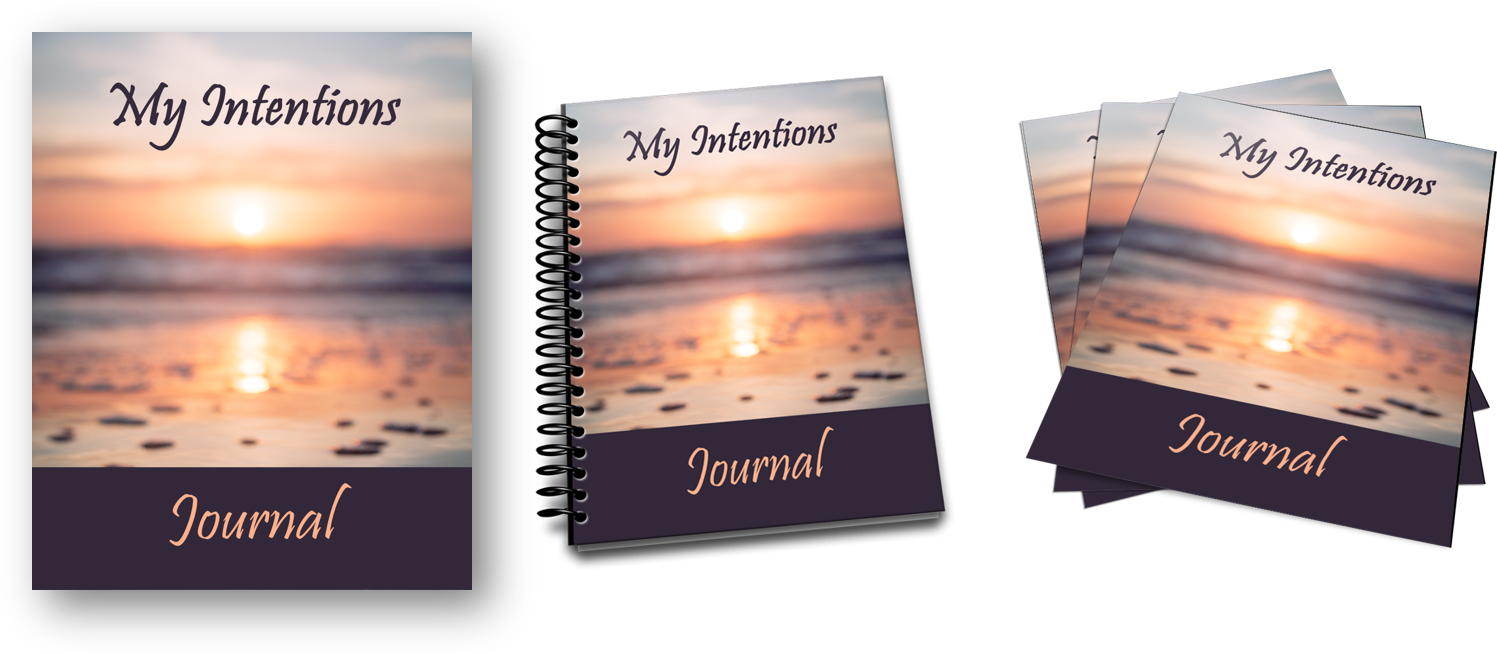 my intentions journal ecovers image