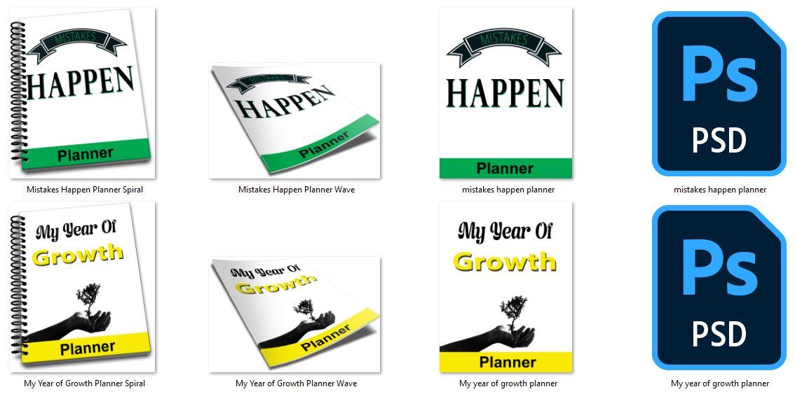 growth mindset planner images