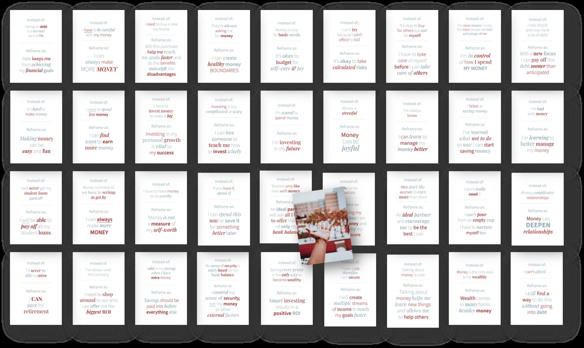 Reframe Your Money Mindset Card Deck image 1