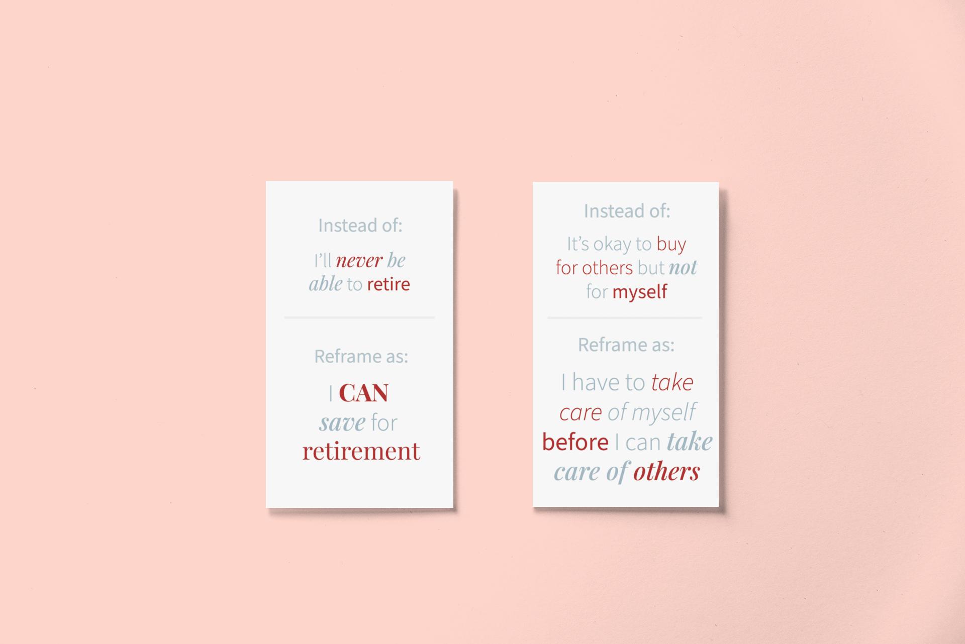 wealth mindset card deck plr