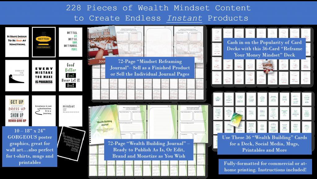 wealth mindset plr